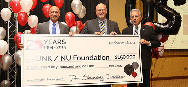 UNK/NU Foundation donation